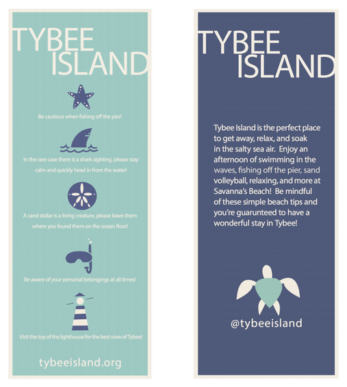 tybee information card