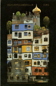 Hundertwasserhaus Advent Calendar (Large)