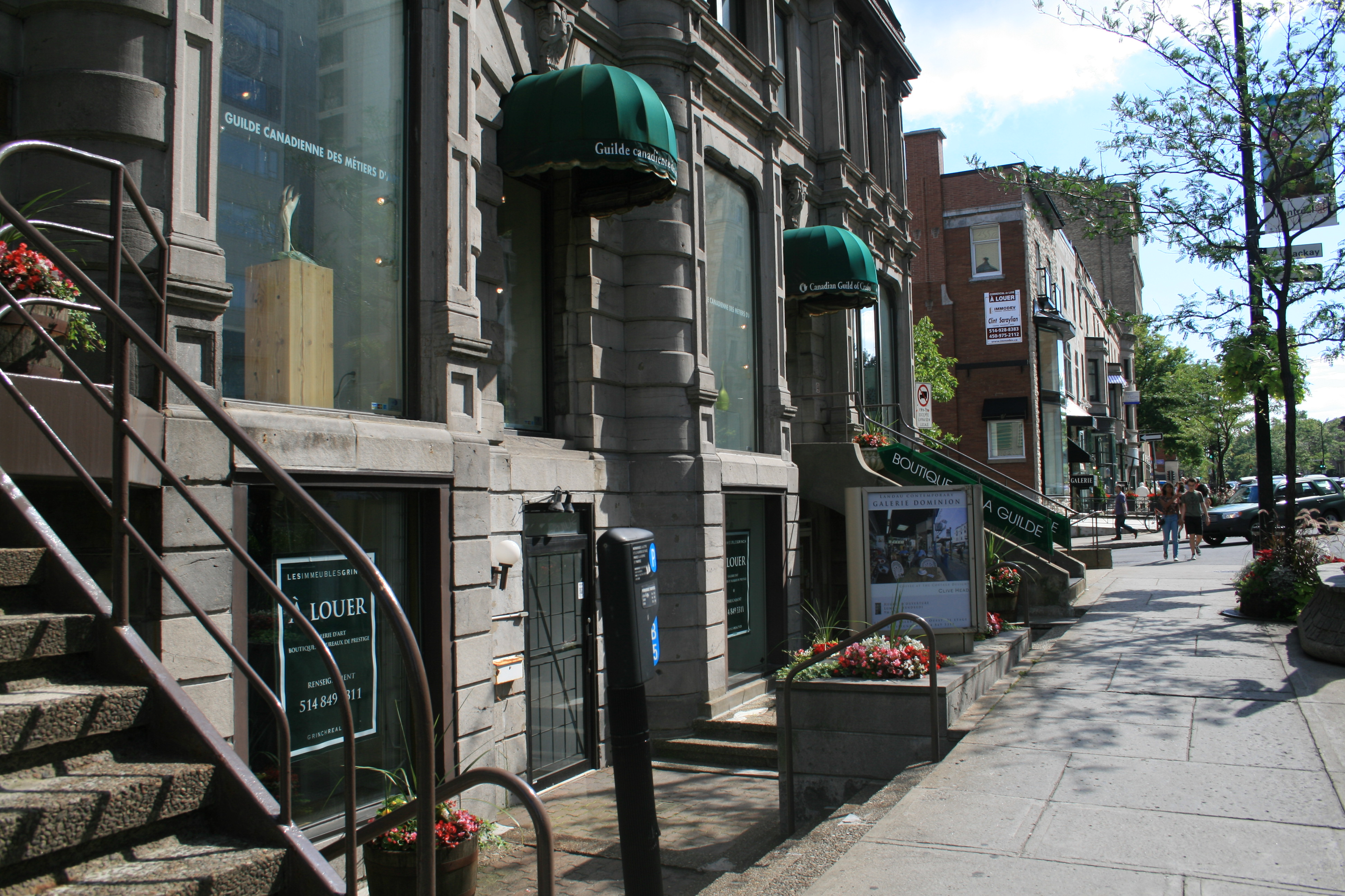 Storefront on Sherbrooke