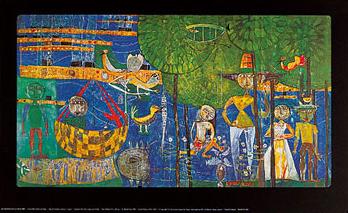 Land of Men (by Hundertwasser and Rene Bro)