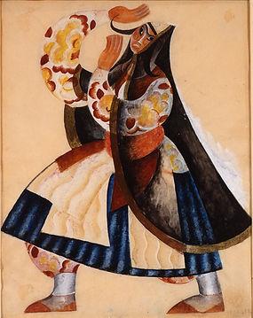Tcheltichew 5463 Costume for a Female Da