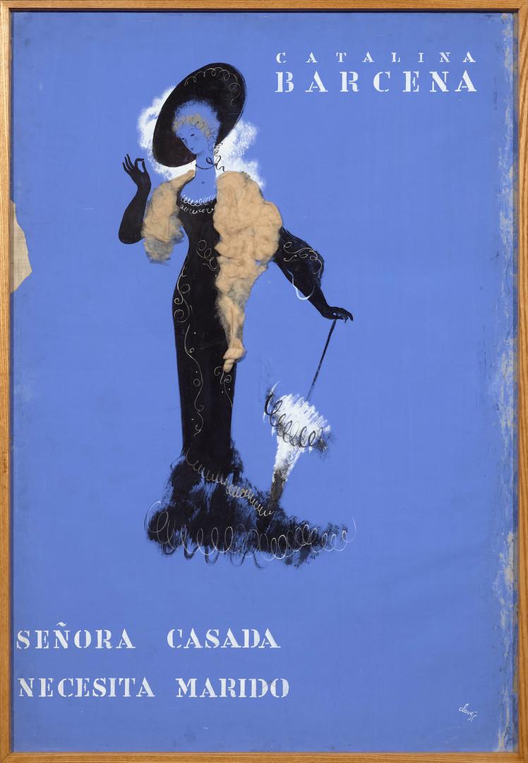 Señora Casada neccessita marido, 1934