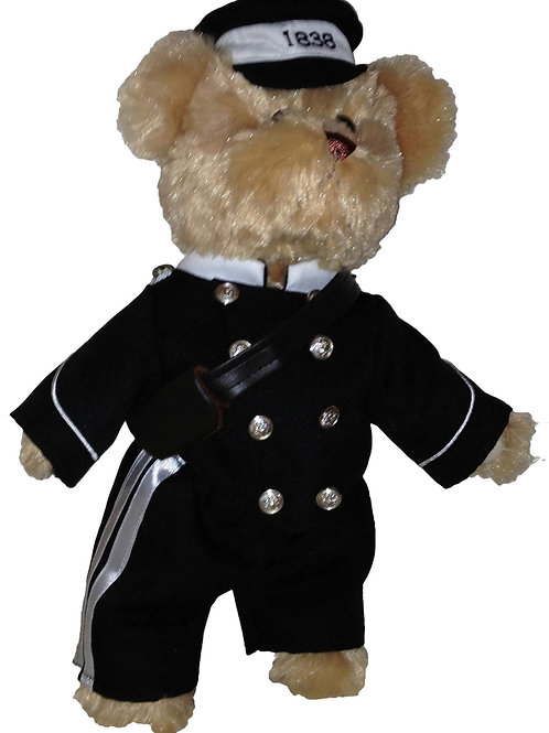 Bear in historic Police Uniform