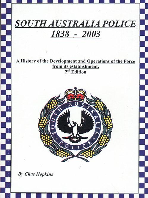South Australia Police 1838 - 2003