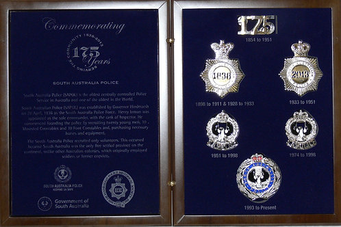 175 Anniversary Historic Badge Collection