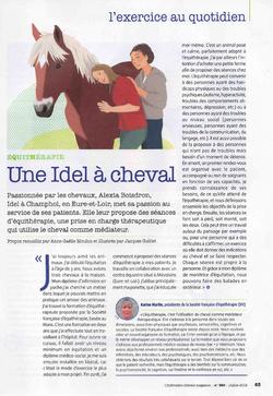 Juillet 2019, Article publié dans Infirmière libérale magazine numéro 360
