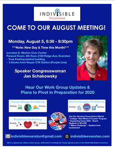 Indivisible Evanston August Meeting
