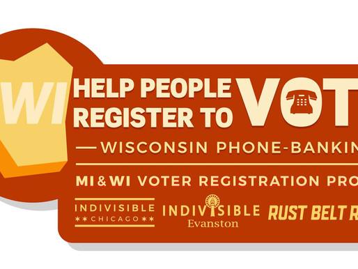 WI Voter Registration Phone Calls