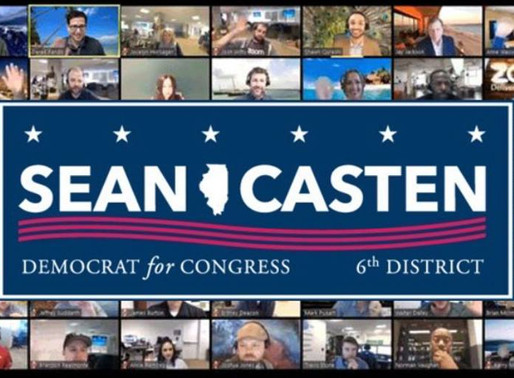 Join us for Team Sean Casten Phone Banks on Tuesdays
