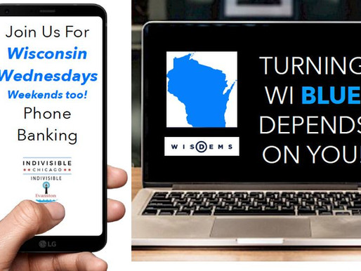 Help Us Turn WI Blue: Wisconsin Wednesdays Phone Banks