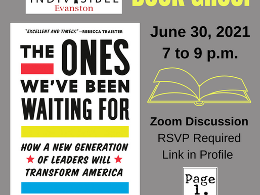June 30 Book Group: The Ones We've Been Waiting For