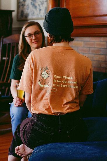 T-shirt Fin du monde