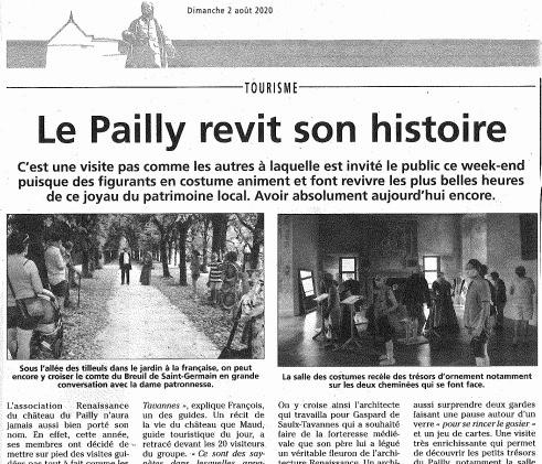 Le Pailly revit son histoire