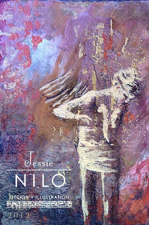 Encaustic Angel