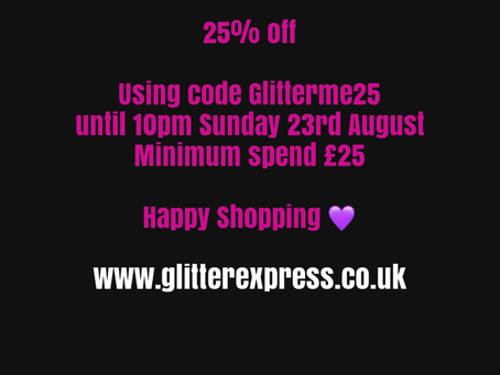 25% off summer sale