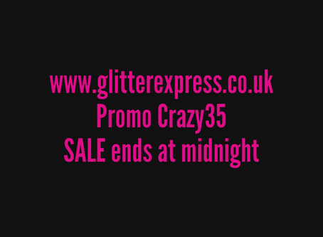 DON'T MISS OUT SALE ENDS MIDNIGHT.
