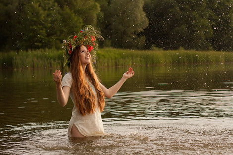 Leaping Fires on Ivana Kupala Day