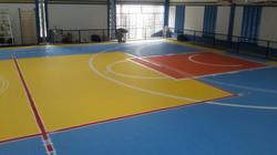 Piso Modular Indoor - Pintura Linhas