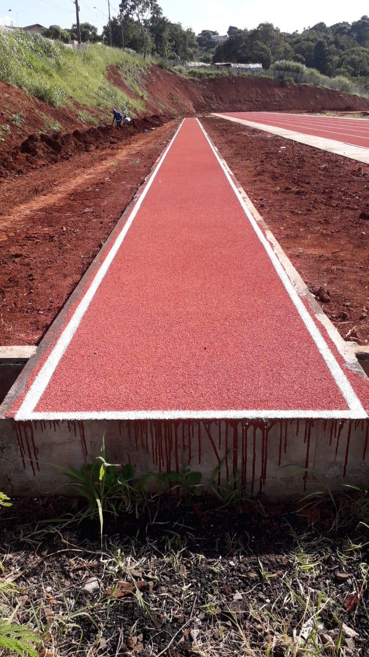 Pista de Atletismo - Salto