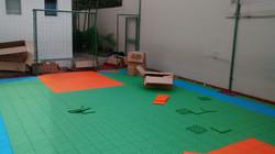 Montagem Piso Playground
