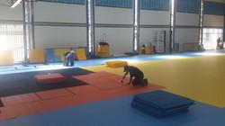 Piso Modular Indoor - Instalação