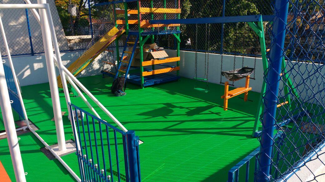 Playground Piso Modular