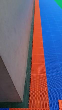 Montagem Piso Modular Outdoor