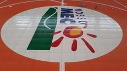 Logotipo pintado