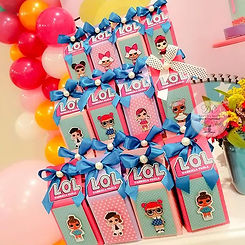 Cajitas personalizadas para dulces con t