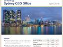 Sydney CBD Office Market Brief - April 2018 Savills