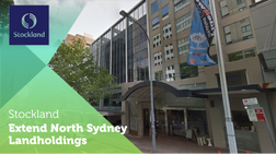 Stockland add to North Sydney Development site