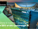 ISPT acquire Blackstone's stake in 161 Castlereagh St