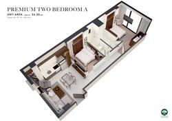 Two Bedroom Premium A