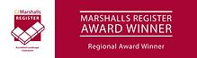 Marshalls Register Regional Awards Banne