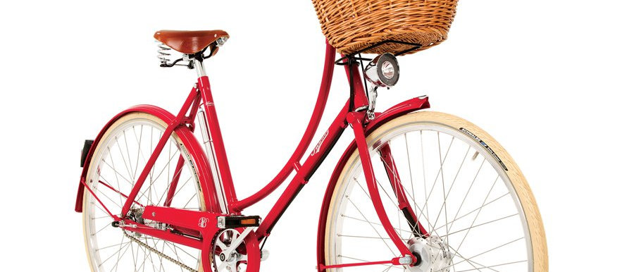 PASHLEY BRITANNIA RED 5 SPEED