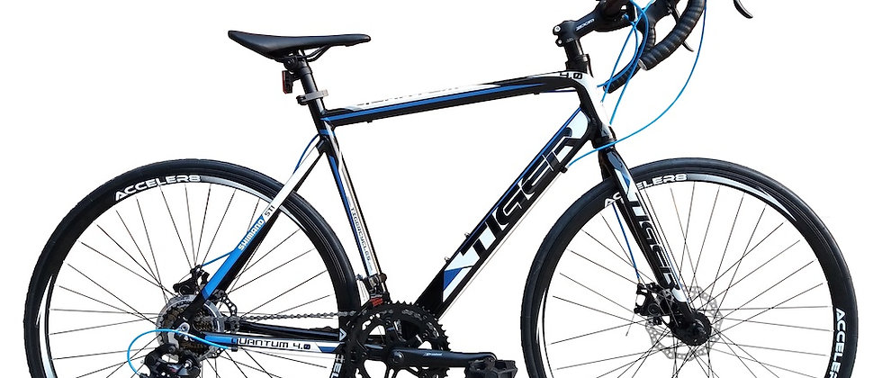 2020 TIGER QUANTUM 4.0 BLUE ROAD BIKE