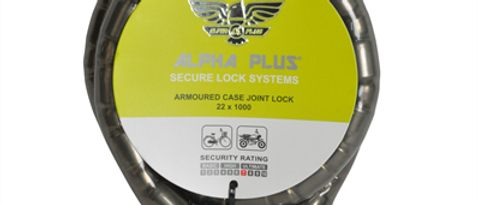Lock Alpha+ Armoured Case Joint Lock 22mm X 1M