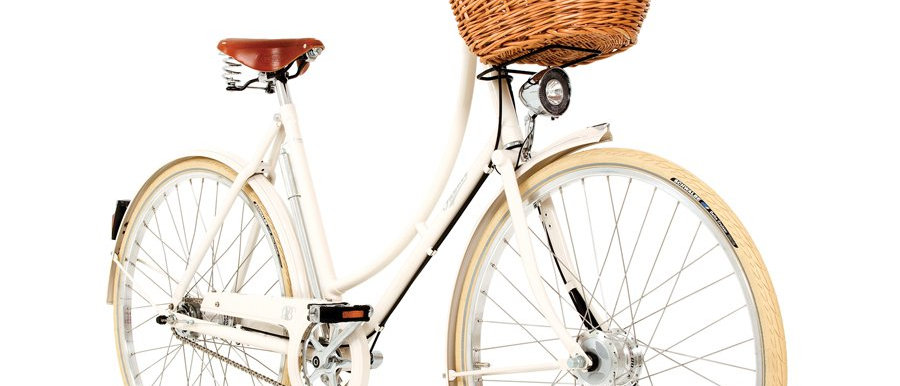 PASHLEY BRITANNIA WHITE 5 SPEED