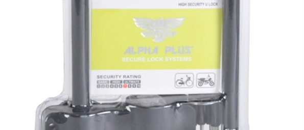 Lock Shackle Alpha Plus 165mm X 245mm Rated 7