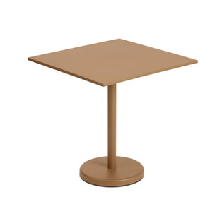 Linear Steel Cafe Table