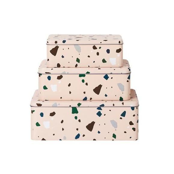 Terrazzo Tin Boxes
