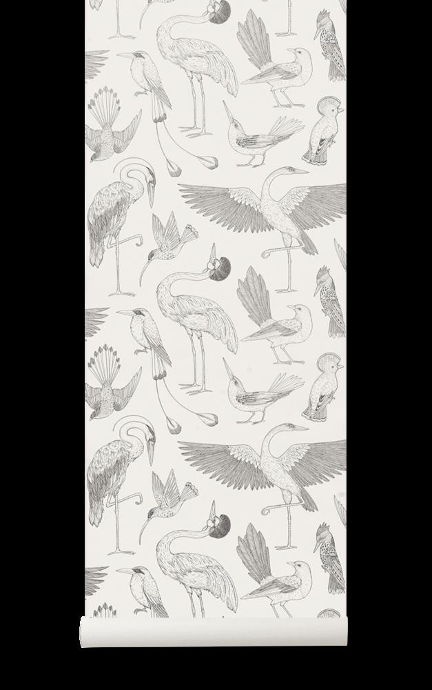 Katie Scott Birds Wallpaper