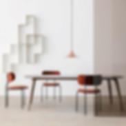 gubi-semi-pendant-in-copper-in-room-with