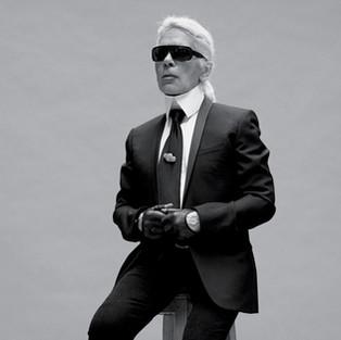 Homage to Karl Lagerfeld