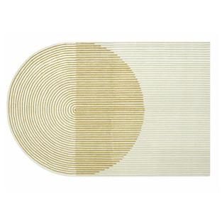 Ply Yellow Wool Rug