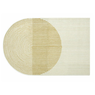 Ply Yellow Wool Rug
