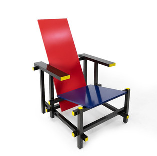 Red and Blue Armchair