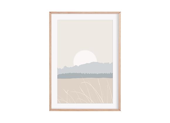 Winter Meadow Print