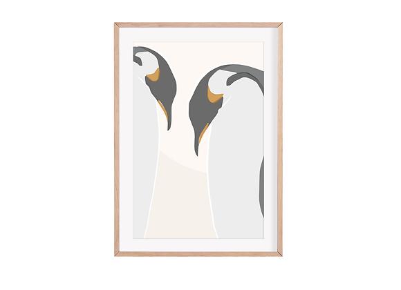 Emperor Penguins Print