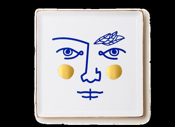Ceramic Tray Janus Warrior